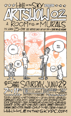 ARTSHOW_02: A Room Full of MuralsIn which: 20+…
